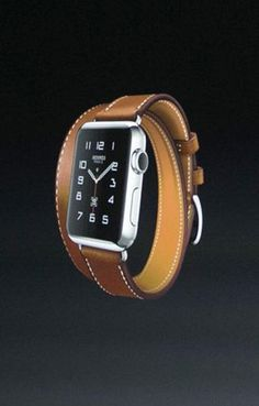 Hermes has teamed up with Apple to bring you new Apple Watch Bands: the Single Tour, Double Tour, and Cuff