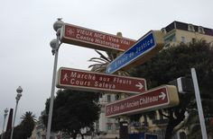 Never get lost in Nice...!!
