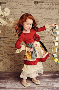 I absolutely love this persnickety clothing line. My daughter has several outfits from this designer!
