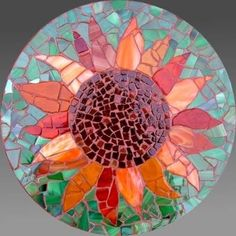 Trendy Ideas For Garden Art Stone Mosaic Tiles Mosaic Garden Art, Mosaic Tile Art, Mosaic Crafts, Mosaic Projects, Mosaics, Mosaic Mirrors, Mosaic Stepping Stones, Stone Mosaic, Mosaic Glass