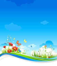 Powerpoint Background Design, Background Design Vector, Cartoon Background, Background Images, Cute Wallpapers, Wallpaper Backgrounds, Butterfly Clip Art, Butterfly Flowers, Boarders And Frames