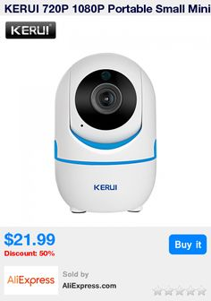 KERUI 720P 1080P Portable Small Mini Indoor Wireless Home Security WiFi IP Camera Surveillance Camera Night Vision CCTV Camera * Pub Date: 06:53 Dec 16 2017