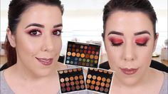 SORTEO INTERNACIONAL MORPHE HOLIDAY COLLECTION PALETTES | REVIEW Y TUTORIAL