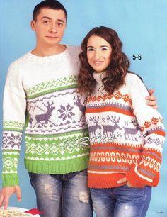 Жаккардовые пуловеры для него и для нее. Обсуждение на LiveInternet - Российский Сервис Онлайн-Дневников