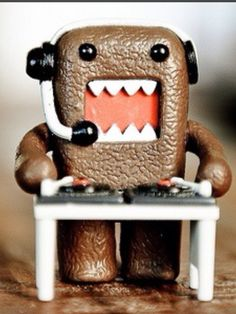 DJ DOMO. It's so him