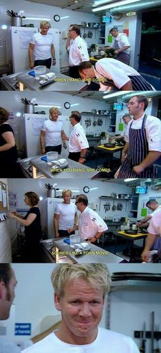Chef Gordan Ramsey everyone.