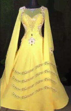 a180cb9f24 B7564 women Elegant swing tango waltz salsa smooth dance dress us 8   fashion  clothing