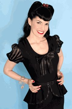 Rockabilly & Pin-Up hair: tips, styling, trends - the Fashion Spot