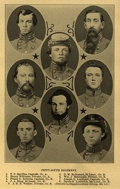 56th NC Soldiers