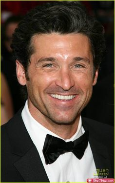 Patrick Dempsey.  Hard to pick just one photo of this handsome man.