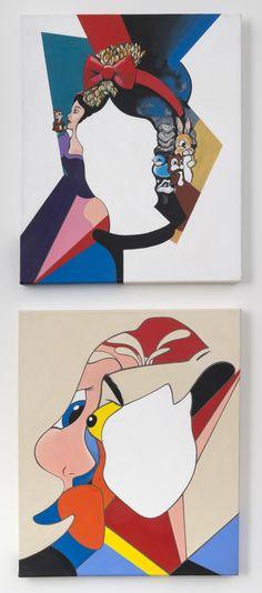 Paintings on canvas by Ellannah Sadkin