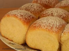 Buchty - sweet yeast dough Slovak favorite buns filled with fillings of your choice (Slovak language) Slovak Recipes, Czech Recipes, Russian Recipes, Sweet Recipes, My Recipes, Eastern European Recipes, Savory Tart, Home Baking, Bread And Pastries