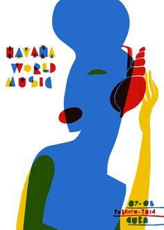 Havana World Music, Feb. 2014,    Cuba.