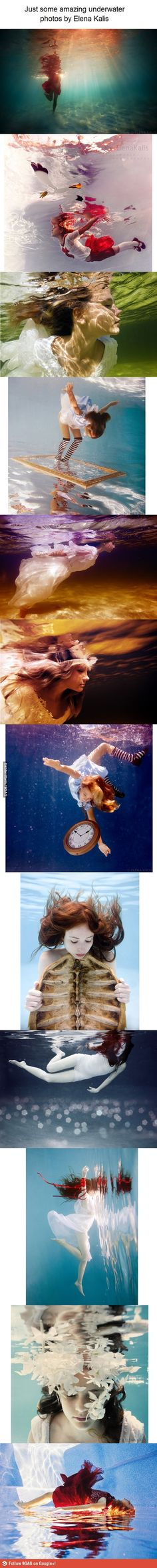 Underwater photography by Elena Kalis.