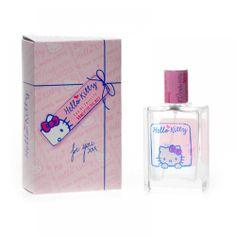 Pon un poco de la dulzura de Hello Kitty en tu día a día  www.ilovecosmetics.com/es/licencias/329-eau-de-toilette-50-m-4042288108685.html