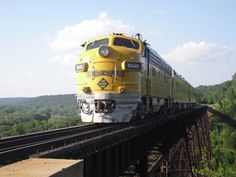 The Kate Shelley High Bridge on the Boone and Scenic Valley Railroad line in Boone is the world's highest, longest, double track railroad bridge.