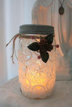 In Jorunn: Decoratieve Engeland Glazen VOOR Kerstmis