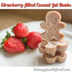Strawberry-filled Fat Bombs