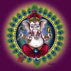 final lord ganesha by MaryKarmenOrjezz