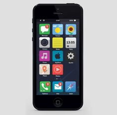Eight iOS 7 Flat UI Mockups: Is This What Your Next iPhone Will Look Like? | Gizmodo Australia