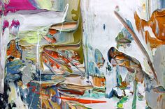 Adam Cohen Studio 2015 Abstract painting
