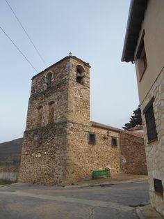 Riofrío de Riaza. Iglesia de San Miguel Arcángel. Torre.