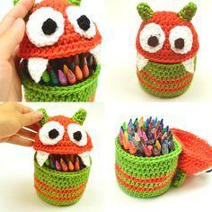 Crochet Pattern: Monster Container (Crochet Spot)