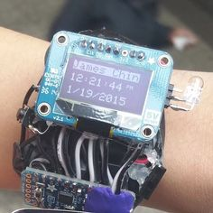 Don't feel like buying a smartwatch? Make your own with Pro Trinket. #Atmel…