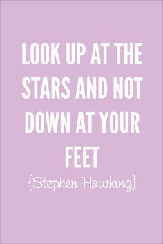 Stephen Hawking #lookup #quote