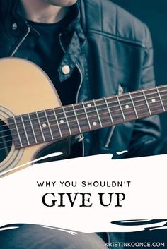 """Do you want to give up? In this post, I talk about American Idol and the contestants who were told """"no"""" but refused to give up and went on to become professional musicians. Click through to learn more about why you shouldn't give up and continue pursuing your dreams!"""