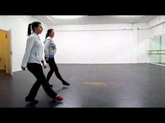 Travel Bare Feet™ - Irish dancing - Mickela Mallozzi's first lesson in hard shoe