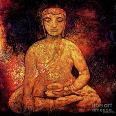 buddha painting abstract - Google Search: