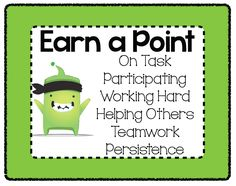 Teaming With Tech: Class Dojo Freebie!                                                                                                                                                                                 More
