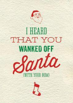16 Hilariously Rude Christmas Cards | Christmas humor, Humor and ...
