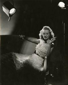 Portrait of Bette Davis by Elmer Fryer.