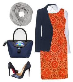 sape orange shweshwe moodboard - 640×721