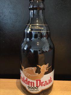 Gulden Draak - 9000 quadruple. 33cl, 10,5% Brouwerij van Steenberge, Ertvelde