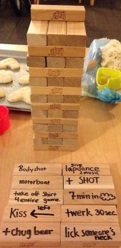 Im not a partier due to my horrible social anxiety & people skills, but changing some of the rules on the blocks for just me & hubby would be fun! Pinterest: Caaytlinnn ♚ ☼☽