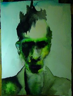 Marilyn Manson - The enabler painting