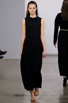 Calvin Klein Collection Pre-Fall 2013 Fashion Show - Tilda Lindstam