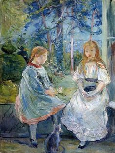 Berthe Morisot, Young Girls at the Window