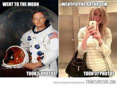Come cambiano i tempi (con annesso sospito anziano) Good Guy Neil Armstrong…