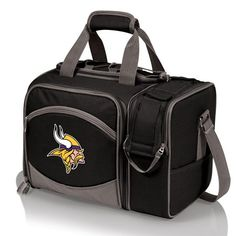 The Minnesota Vikings Malibu Picnic Cooler Tote Malibu Picnic Cooler Tote is the most convenient go-anywhere picnic pack you can find with deluxe service for 2.