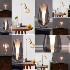 Lamps – Doingupmyhome.com Industrial Style Lamps, Modern Industrial, Candle Sconces, Wall Lights, Candles, Lighting, Home Decor, Appliques, Decoration Home