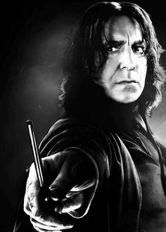 Severus Snape. My God, he's beautiful...