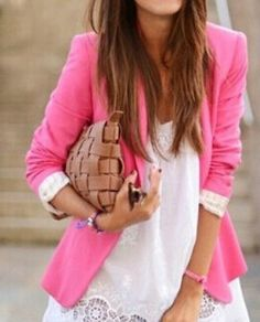 Slim candy color small suit jacket BA110408NM