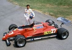 Patrick Daniel Tambay (FRA) (Scuderia Ferrari SpA SEFAC), Ferrari 126C2 - Ferrari Tipo 021 1.5 V6 (t/c)  1982