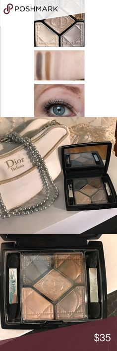 ✨ Dior 5 Couleurs 046 Golden Reflections Eyeshadow 5 Couleurs Eyeshadow Palette for the Softer more Neutral look 😊 A limited edition Palette that features 5 shades ranging from gray to gold to beige. New never used. Comes with eyeshadow brushes as shown. Box not included. 💥 Dior Makeup Eyeshadow