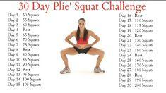 Squat Challenge Posters