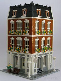 Beloved Belle Modular by kristel #modular #brickadelics #lego #building http://ift.tt/1zemKLL